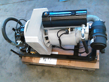 hydraulic air compressors